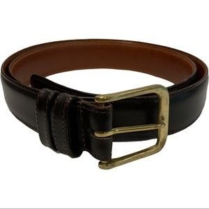 Coach 5800 Leather Belt Size 36 Brown